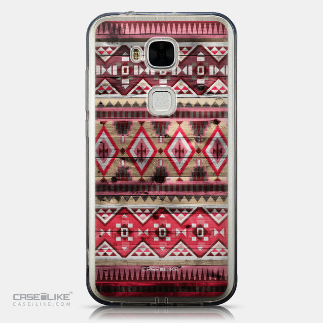 CASEiLIKE Huawei G7 Plus back cover Indian Tribal Theme Pattern 2057