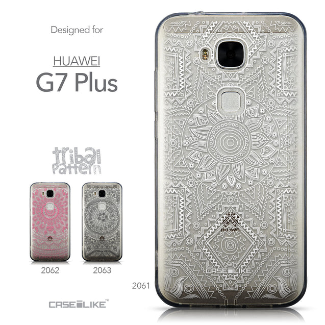 Collection - CASEiLIKE Huawei G7 Plus back cover Indian Line Art 2061