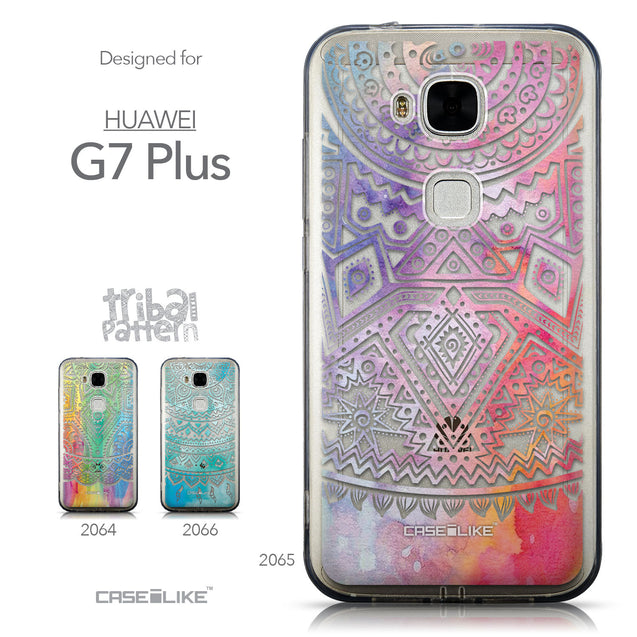 Collection - CASEiLIKE Huawei G7 Plus back cover Indian Line Art 2065