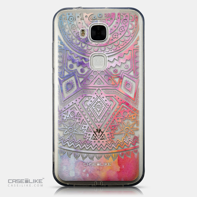 CASEiLIKE Huawei G7 Plus back cover Indian Line Art 2065