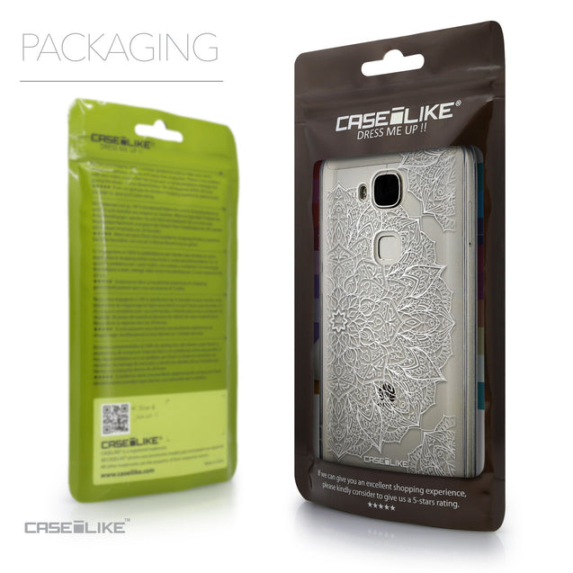 Packaging - CASEiLIKE Huawei G7 Plus back cover Mandala Art 2091