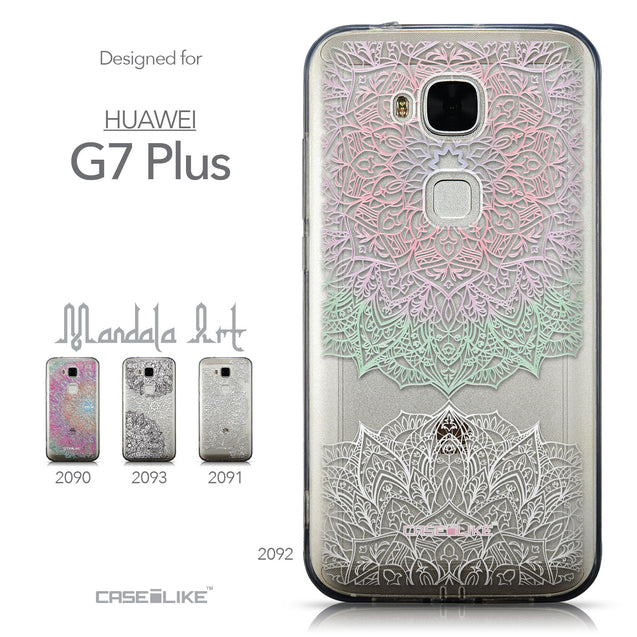 Collection - CASEiLIKE Huawei G7 Plus back cover Mandala Art 2092