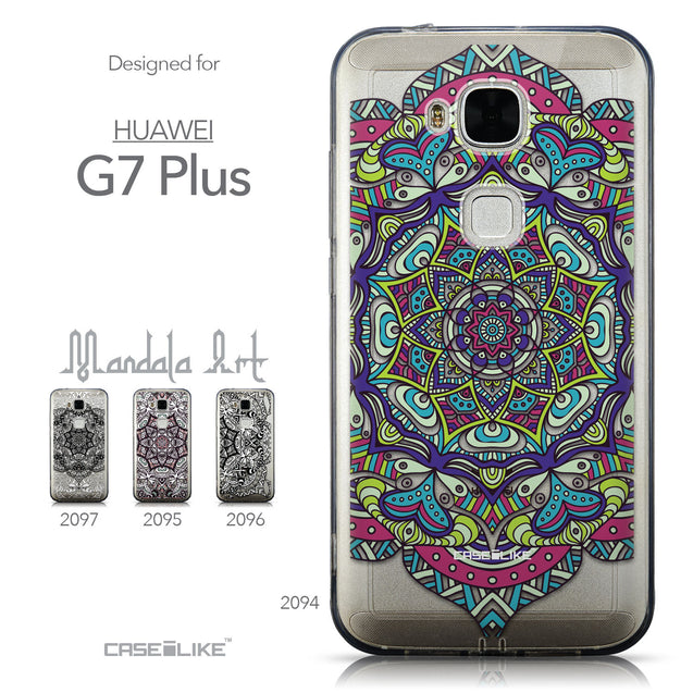 Collection - CASEiLIKE Huawei G7 Plus back cover Mandala Art 2094