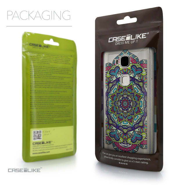Packaging - CASEiLIKE Huawei G7 Plus back cover Mandala Art 2094