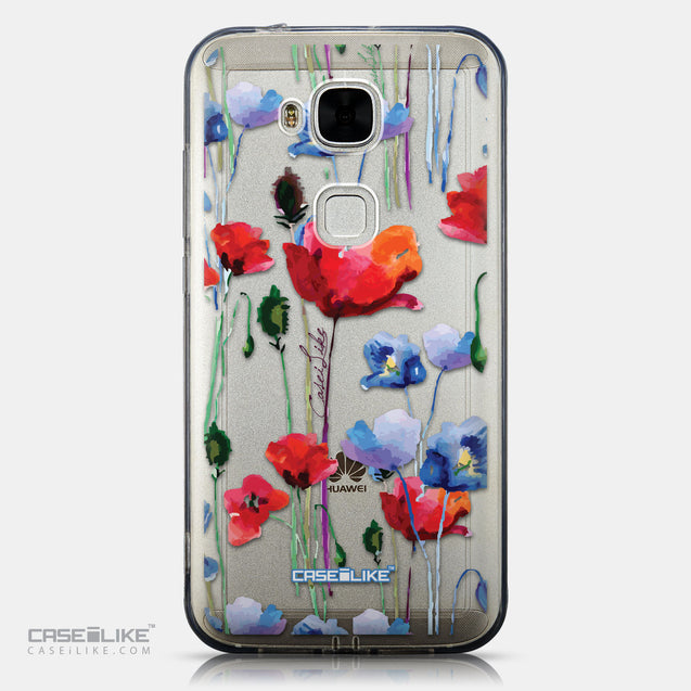CASEiLIKE Huawei G7 Plus back cover Watercolor Floral 2234