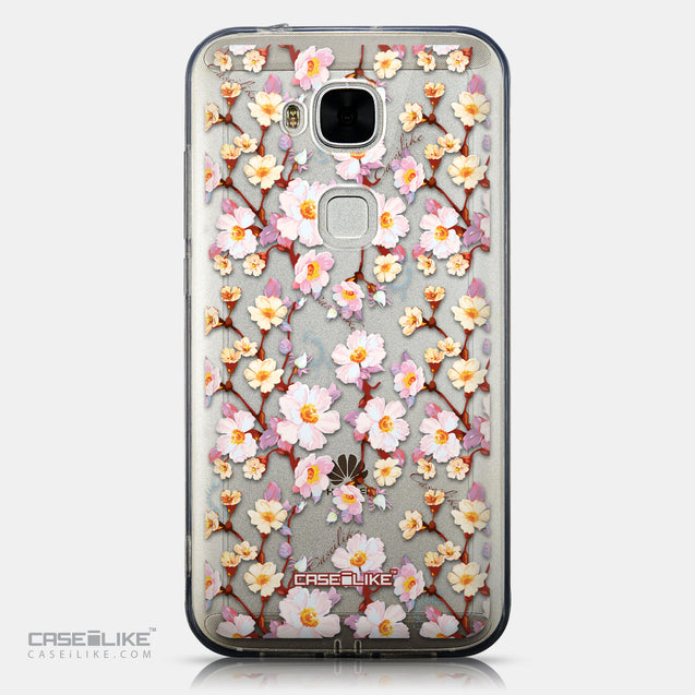 CASEiLIKE Huawei G7 Plus back cover Watercolor Floral 2236