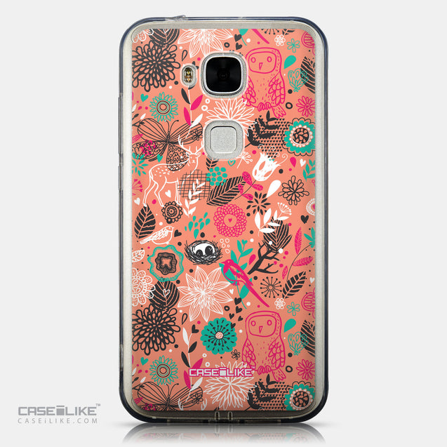 CASEiLIKE Huawei G7 Plus back cover Spring Forest Pink 2242