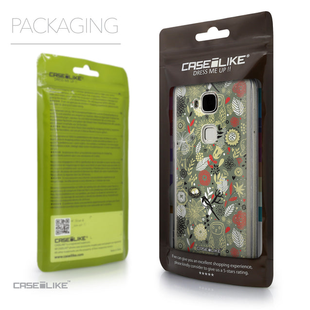 Packaging - CASEiLIKE Huawei G7 Plus back cover Spring Forest Gray 2243