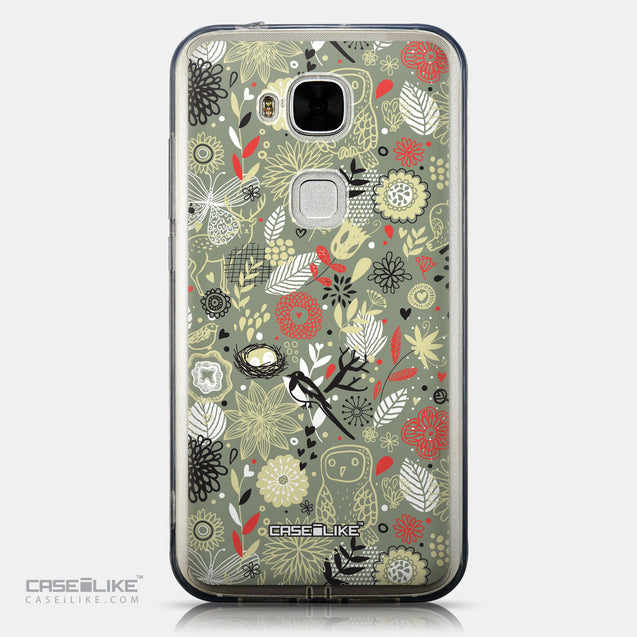 CASEiLIKE Huawei G7 Plus back cover Spring Forest Gray 2243
