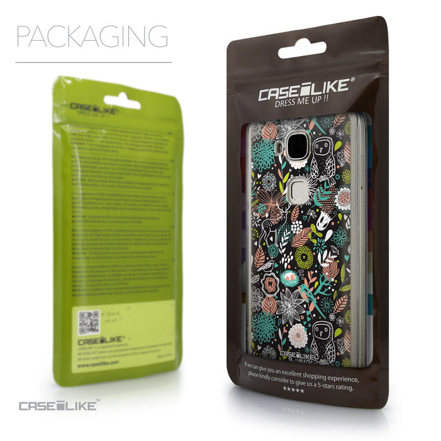 Packaging - CASEiLIKE Huawei G7 Plus back cover Spring Forest Black 2244
