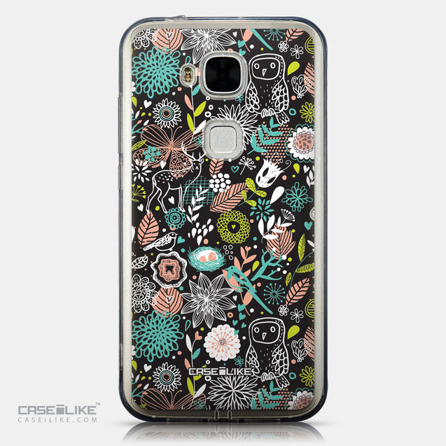 CASEiLIKE Huawei G7 Plus back cover Spring Forest Black 2244