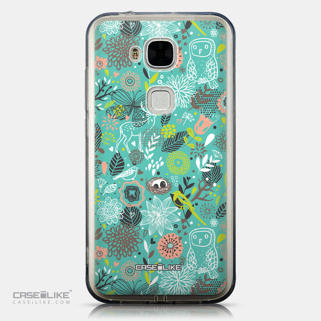 CASEiLIKE Huawei G7 Plus back cover Spring Forest Turquoise 2245