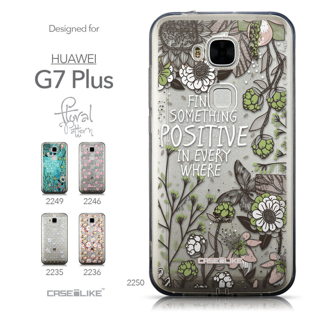 Collection - CASEiLIKE Huawei G7 Plus back cover Blooming Flowers 2250