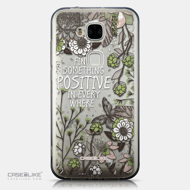 CASEiLIKE Huawei G7 Plus back cover Blooming Flowers 2250