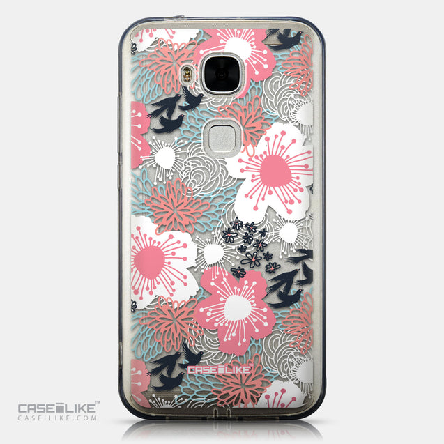 CASEiLIKE Huawei G7 Plus back cover Japanese Floral 2255