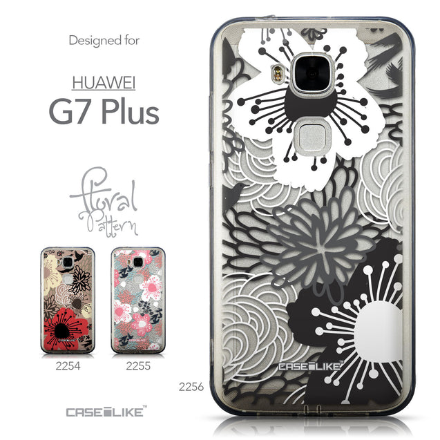 Collection - CASEiLIKE Huawei G7 Plus back cover Japanese Floral 2256