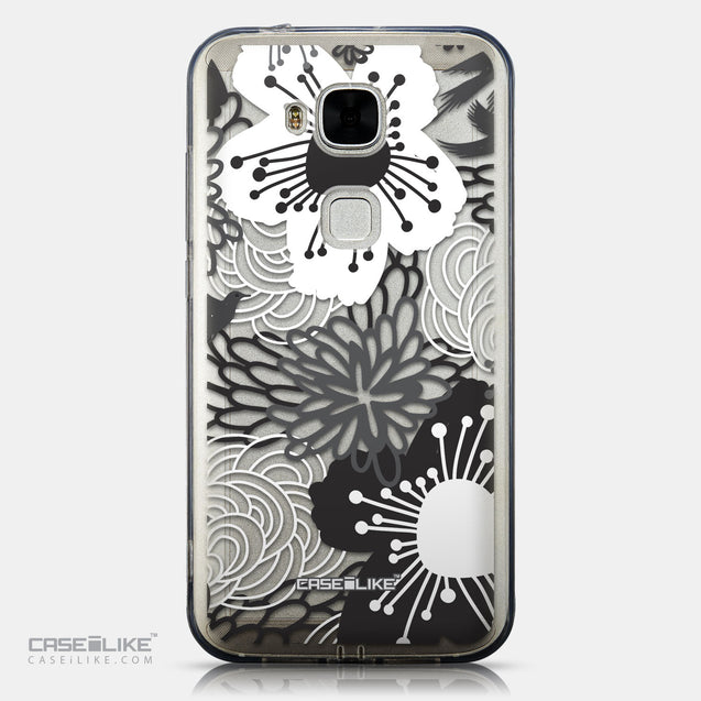 CASEiLIKE Huawei G7 Plus back cover Japanese Floral 2256