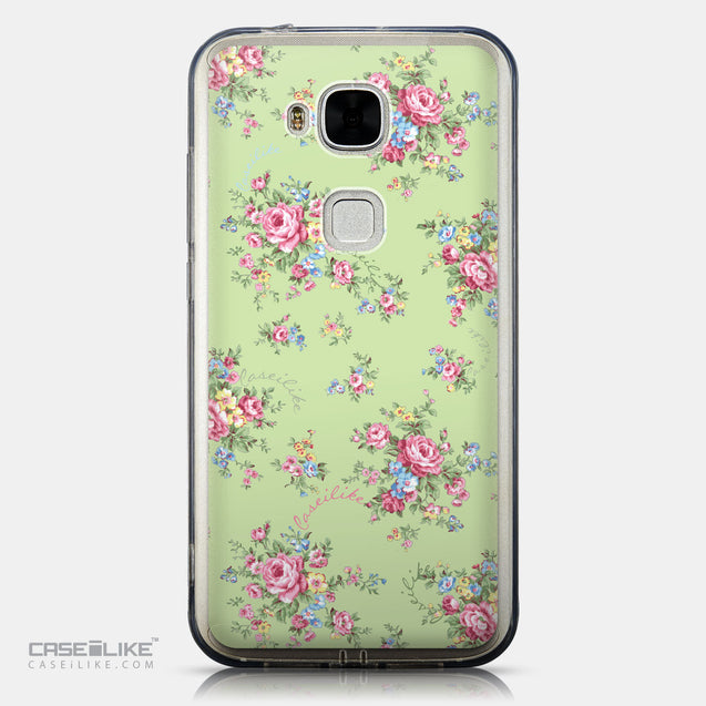 CASEiLIKE Huawei G7 Plus back cover Floral Rose Classic 2262