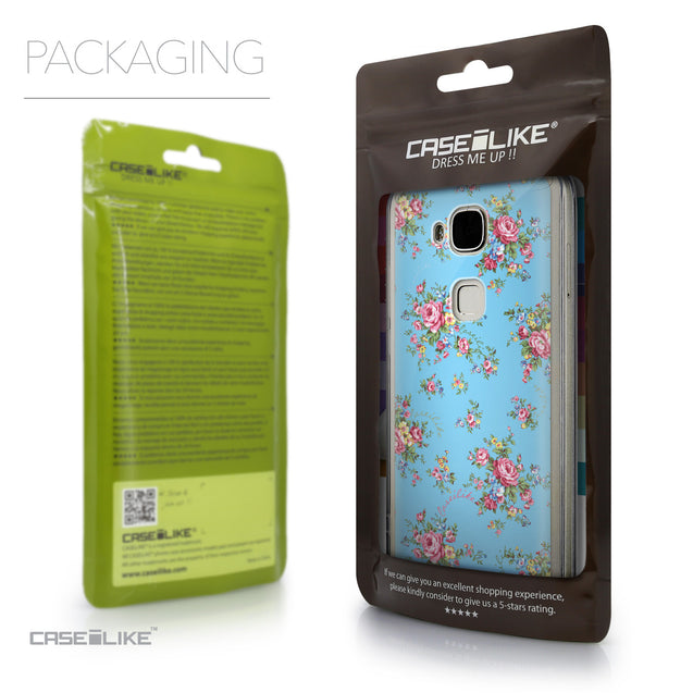 Packaging - CASEiLIKE Huawei G7 Plus back cover Floral Rose Classic 2263