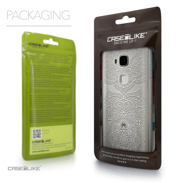 Packaging - CASEiLIKE Huawei G7 Plus back cover Mandala Art 2303