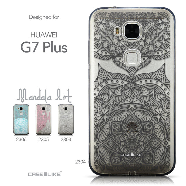 Collection - CASEiLIKE Huawei G7 Plus back cover Mandala Art 2304