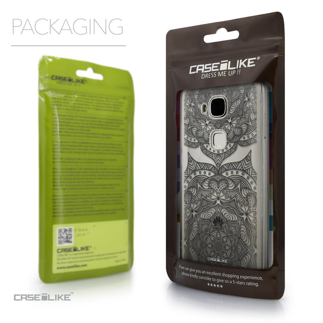 Packaging - CASEiLIKE Huawei G7 Plus back cover Mandala Art 2304