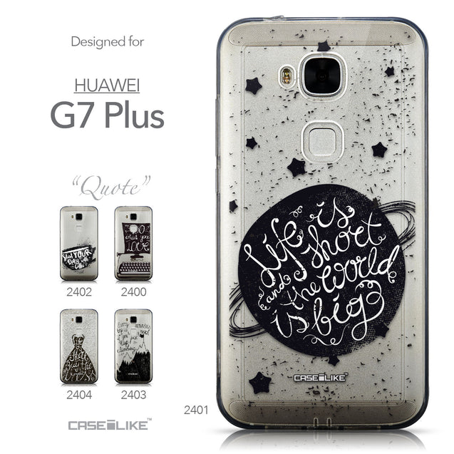 Collection - CASEiLIKE Huawei G7 Plus back cover Quote 2401