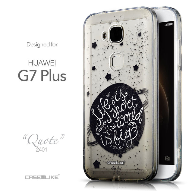 Front & Side View - CASEiLIKE Huawei G7 Plus back cover Quote 2401