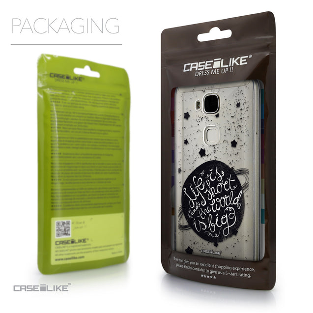 Packaging - CASEiLIKE Huawei G7 Plus back cover Quote 2401