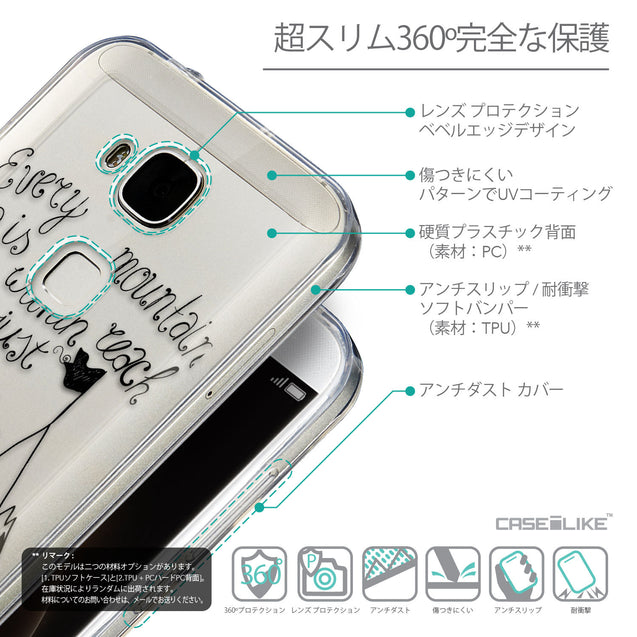 Details in Japanese - CASEiLIKE Huawei G7 Plus back cover Indian Tribal Theme Pattern 2053