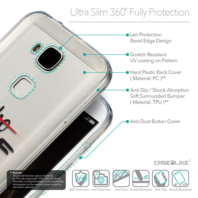Details in English - CASEiLIKE Huawei G7 Plus back cover Quote 2405