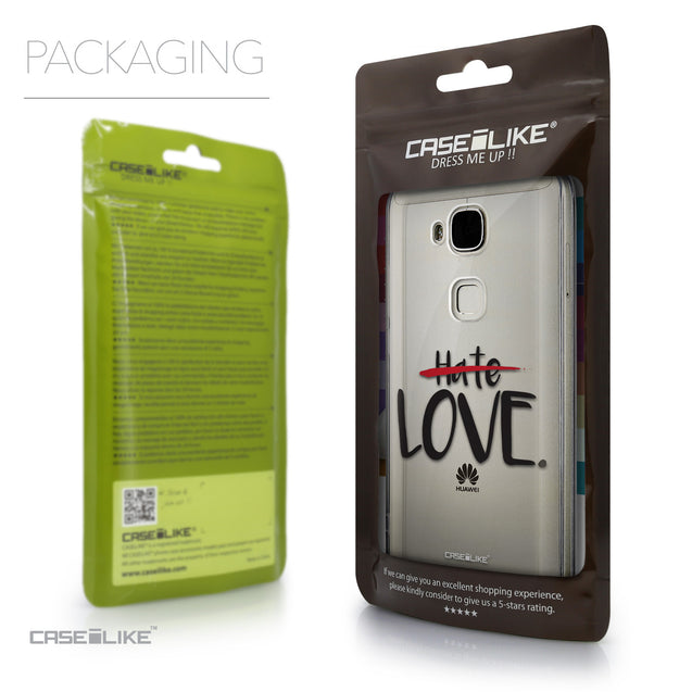 Packaging - CASEiLIKE Huawei G7 Plus back cover Quote 2406