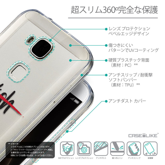 Details in Japanese - CASEiLIKE Huawei G7 Plus back cover Quote 2407