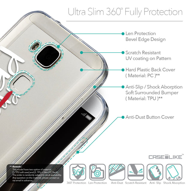 Details in English - CASEiLIKE Huawei G7 Plus back cover Quote 2409