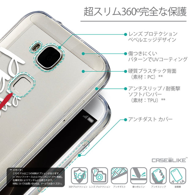 Details in Japanese - CASEiLIKE Huawei G7 Plus back cover Quote 2409