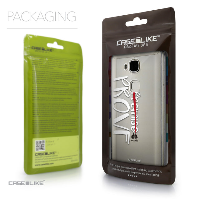 Packaging - CASEiLIKE Huawei G7 Plus back cover Quote 2409
