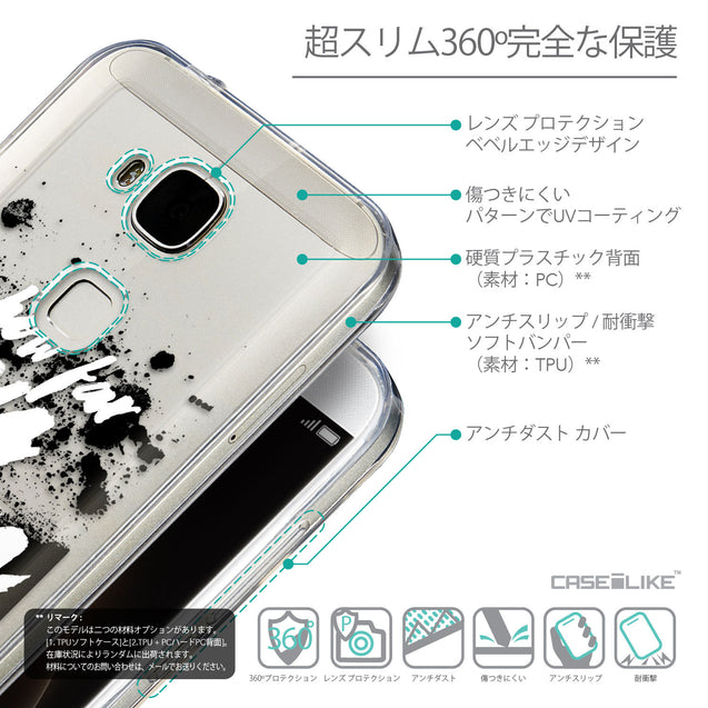 Details in Japanese - CASEiLIKE Huawei G7 Plus back cover Quote 2413