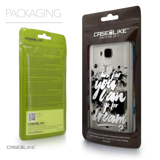 Packaging - CASEiLIKE Huawei G7 Plus back cover Quote 2413