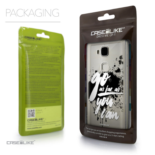 Packaging - CASEiLIKE Huawei G7 Plus back cover Quote 2415