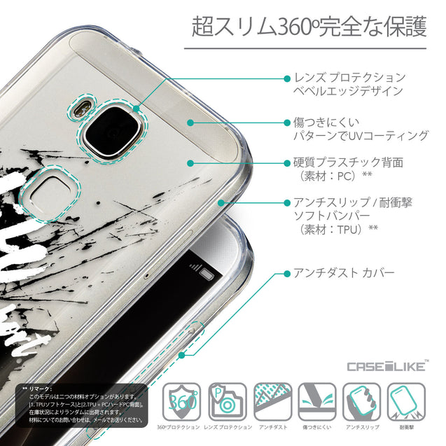 Details in Japanese - CASEiLIKE Huawei G7 Plus back cover Quote 2416