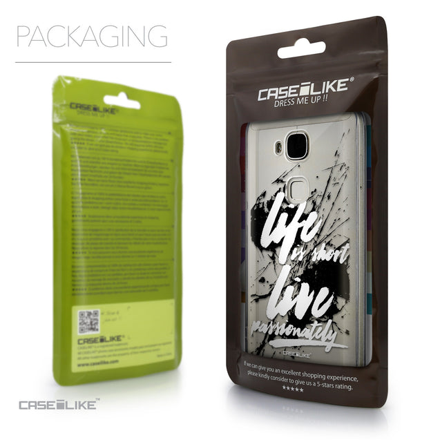 Packaging - CASEiLIKE Huawei G7 Plus back cover Quote 2416