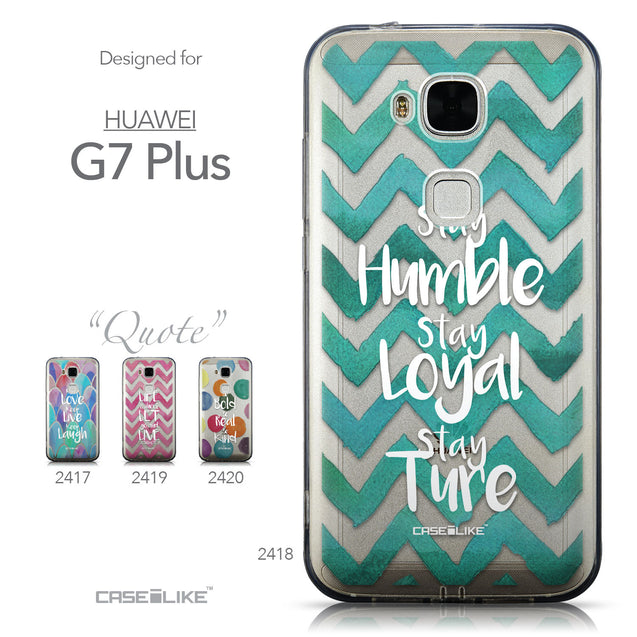 Collection - CASEiLIKE Huawei G7 Plus back cover Quote 2418