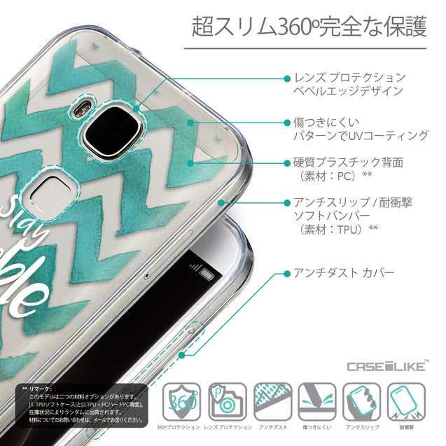 Details in Japanese - CASEiLIKE Huawei G7 Plus back cover Quote 2418