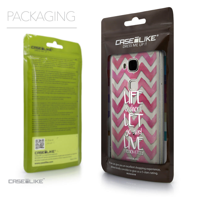Packaging - CASEiLIKE Huawei G7 Plus back cover Quote 2419