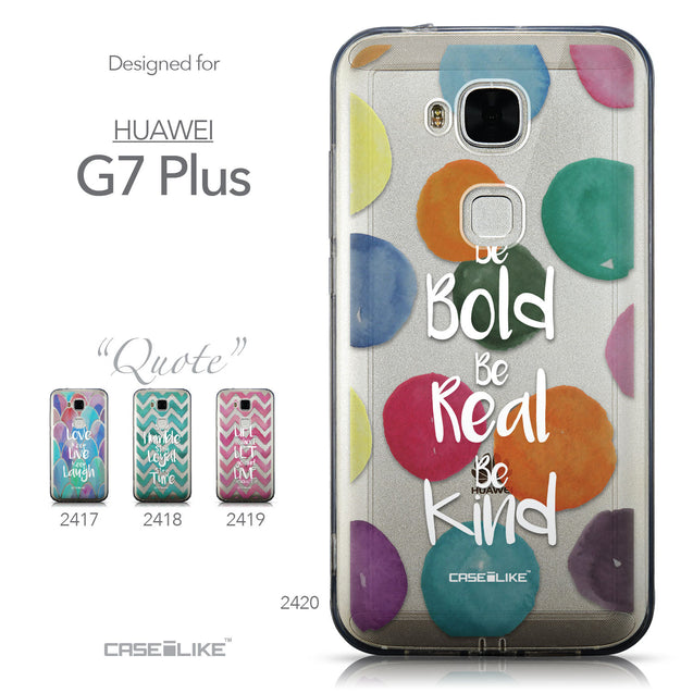 Collection - CASEiLIKE Huawei G7 Plus back cover Quote 2420