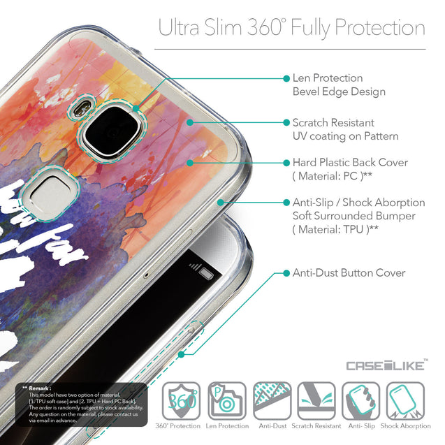 Details in English - CASEiLIKE Huawei G7 Plus back cover Quote 2421