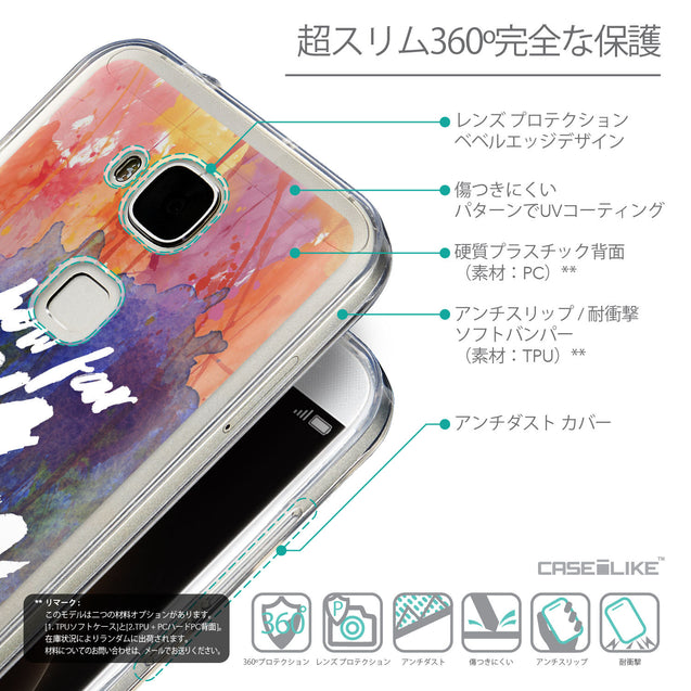 Details in Japanese - CASEiLIKE Huawei G7 Plus back cover Quote 2421