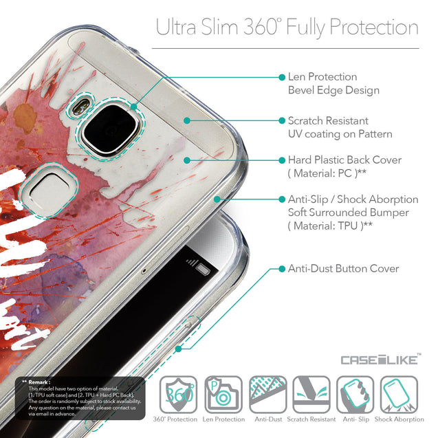Details in English - CASEiLIKE Huawei G7 Plus back cover Quote 2423