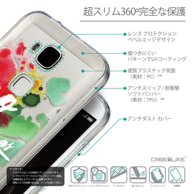 Details in Japanese - CASEiLIKE Huawei G7 Plus back cover Quote 2424