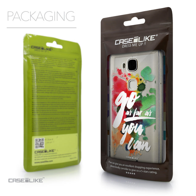 Packaging - CASEiLIKE Huawei G7 Plus back cover Quote 2424